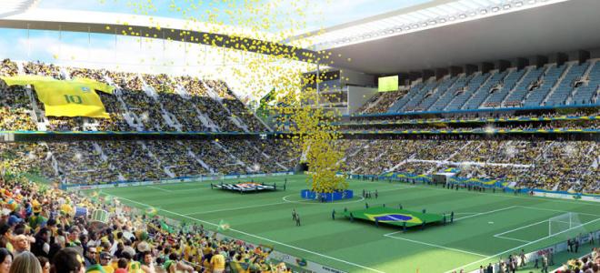 Abertura Copa do Mundo 2014 Arena Corinthians