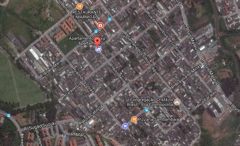 Rua Alto Beni Itaquera